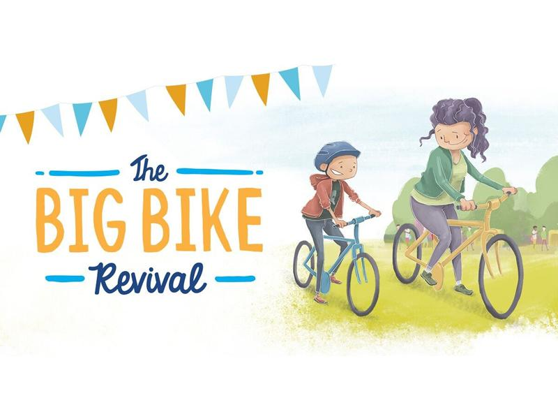 Keep Rolling Cycling Big Bike Revival Led Rides