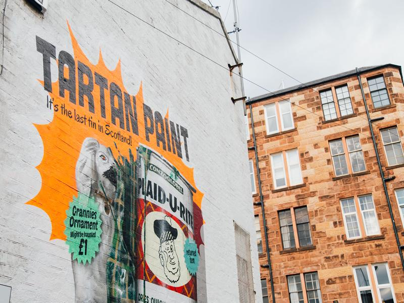 Innis & Gunn gifts new mural to Glasgow as part of Your Call Lager campaign