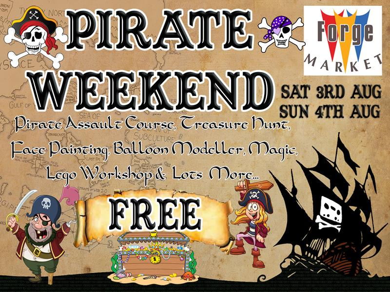 Pirate Weekend at the Forge Market
