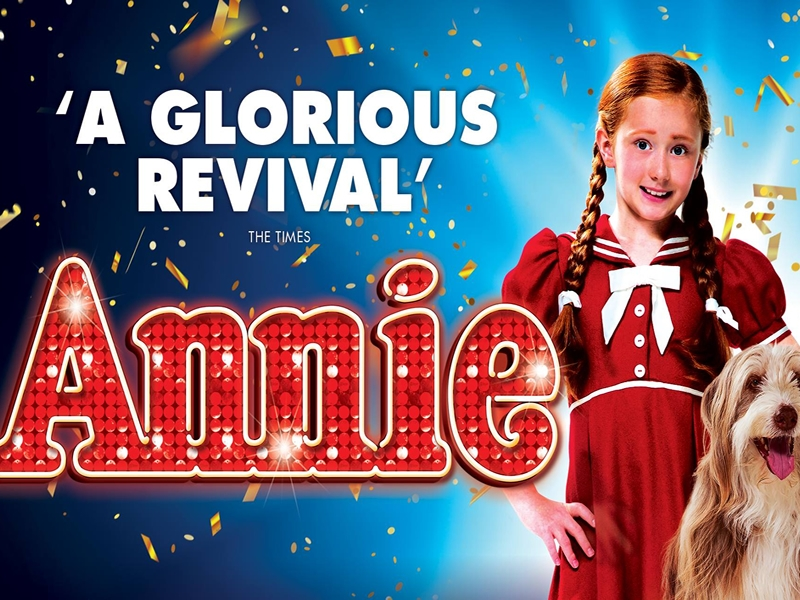 Smash hit musical Annie is coming to Glasgow!