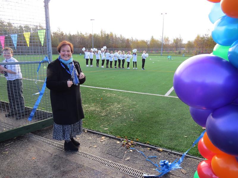 Pitch transformation will help East Renfrewshire school launch football programme