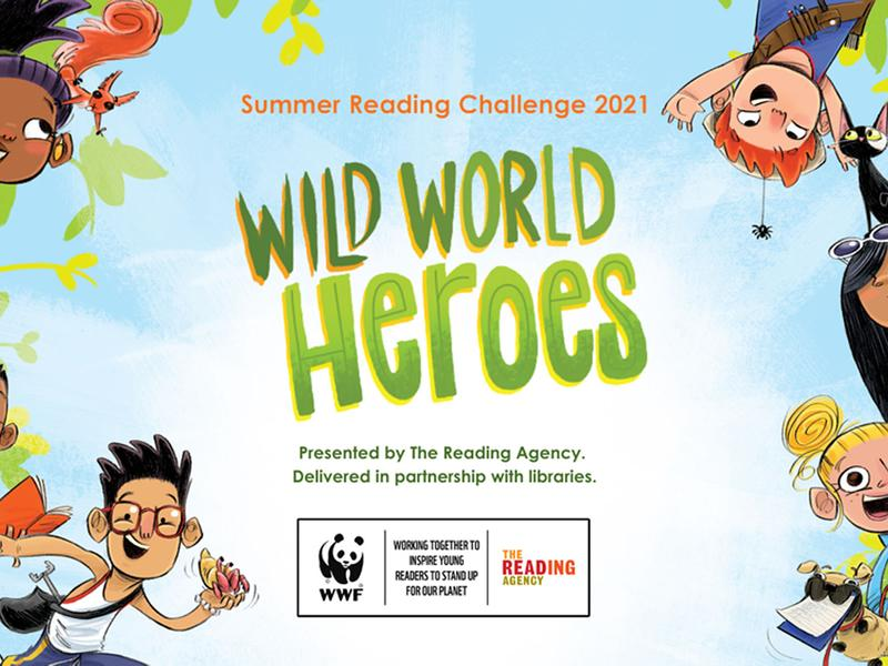 Go wild for the Summer Reading Challenge!