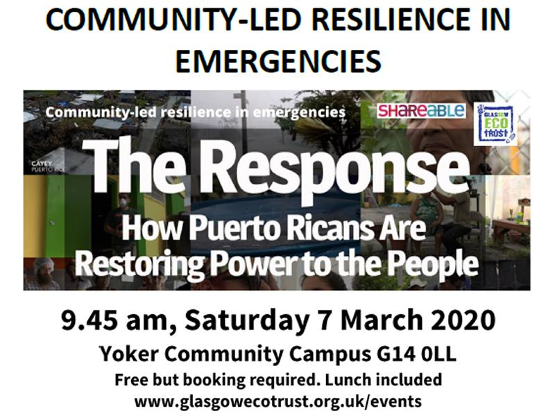 Community-led Resilience in Emergencies
