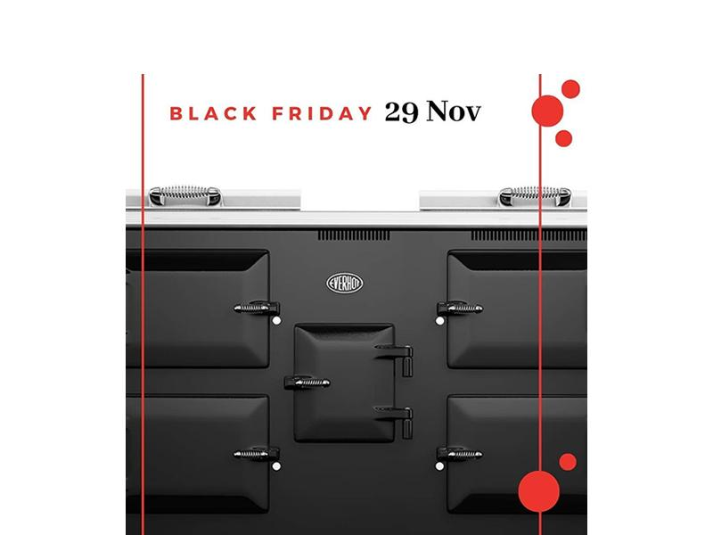 Everhot Range Cooker Black Friday Event