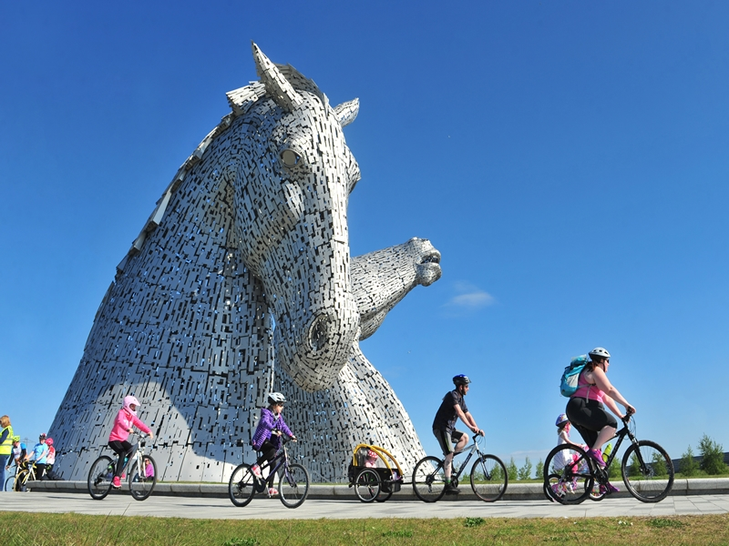 Pedal for Scotland - The Wee Jaunt Falkirk