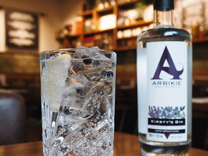 St Andrew's Day tasting event with Scotts Kitchen and Arbikie Distillery