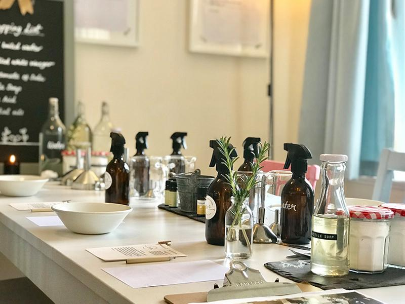 Natural Cleaning Workshop with Emma Rawson - CANCELLED
