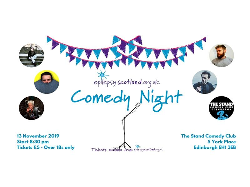 Epilepsy Scotland Comedy Night