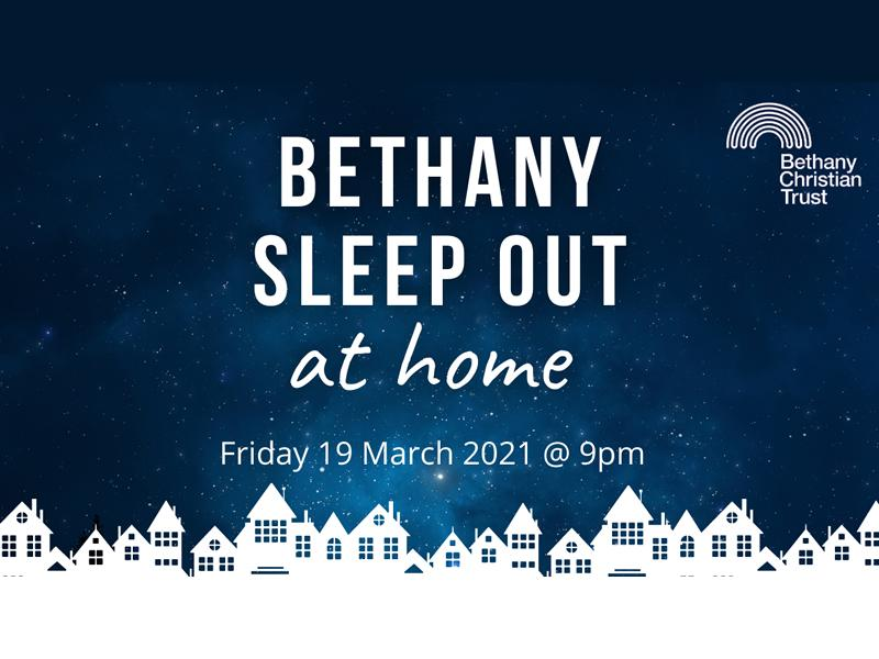 Bethany Sleep Out At Home