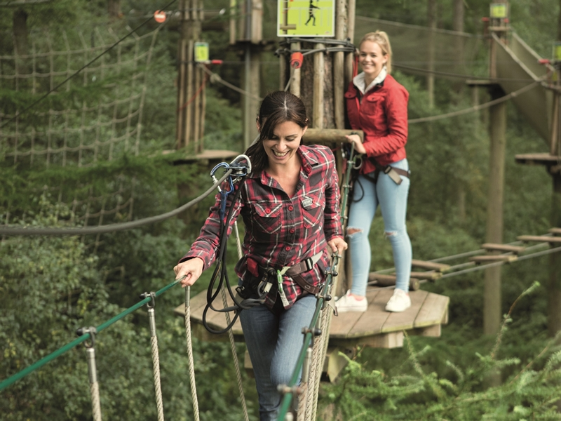 Gift adventure this Christmas with Go Ape!