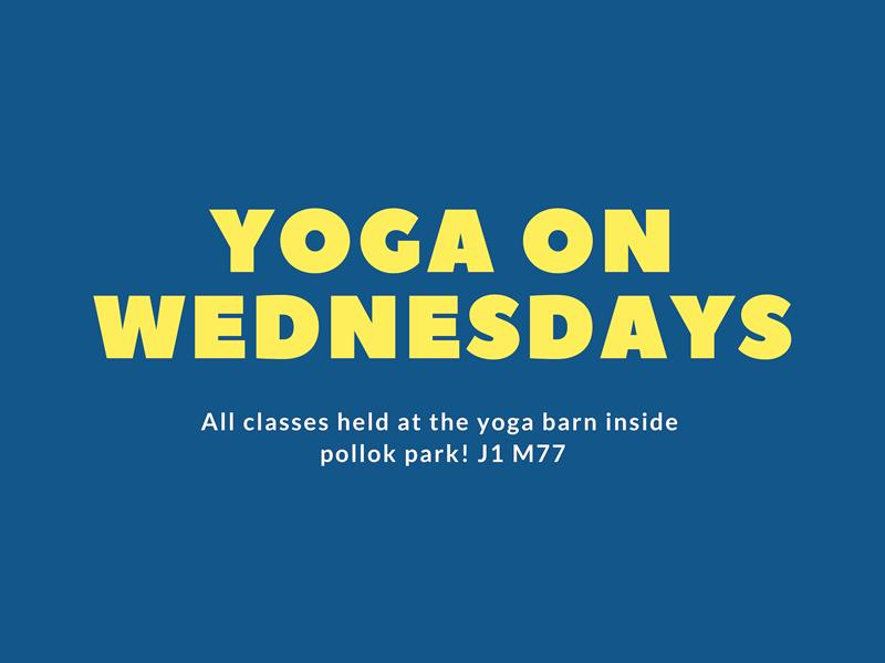 Yoga on Wednesdays