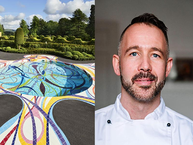 Top Edinburgh chef adds culinary creativity to capital sculpture park