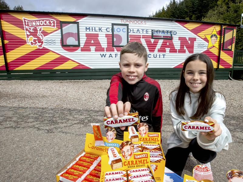 Biscuit fans can book a stay in a CARAVAN Wafer this summer