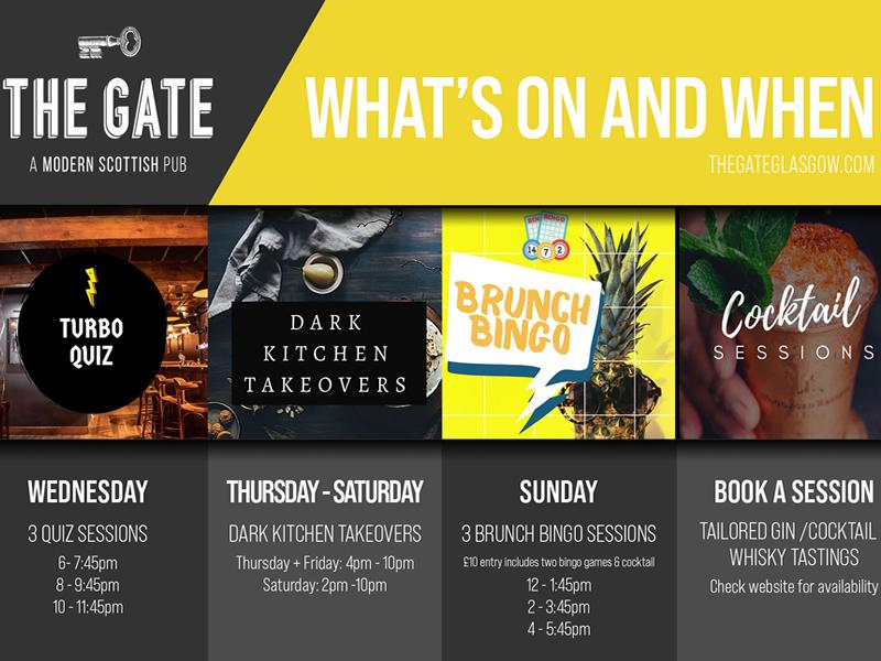 The Gate marks birthday and reopening with a month long series of special events