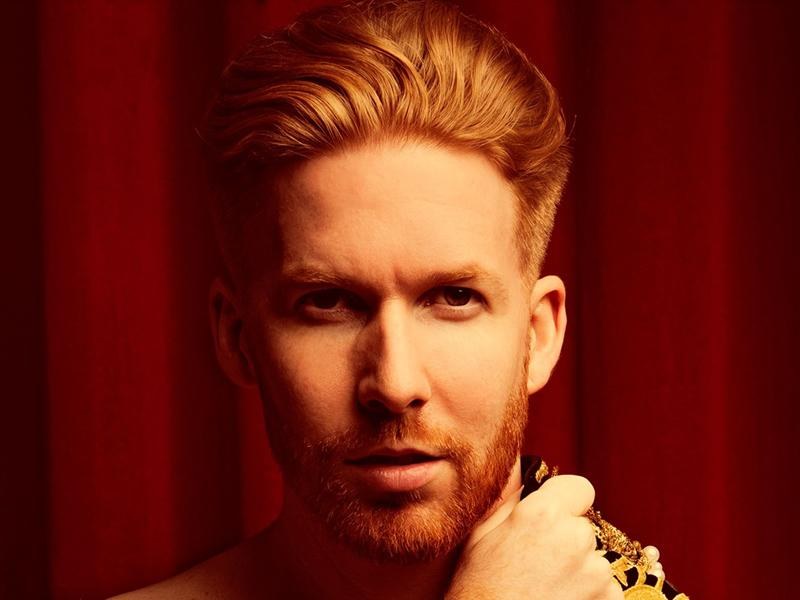 Strictly Come Dancing's Neil Jones in Gingerland