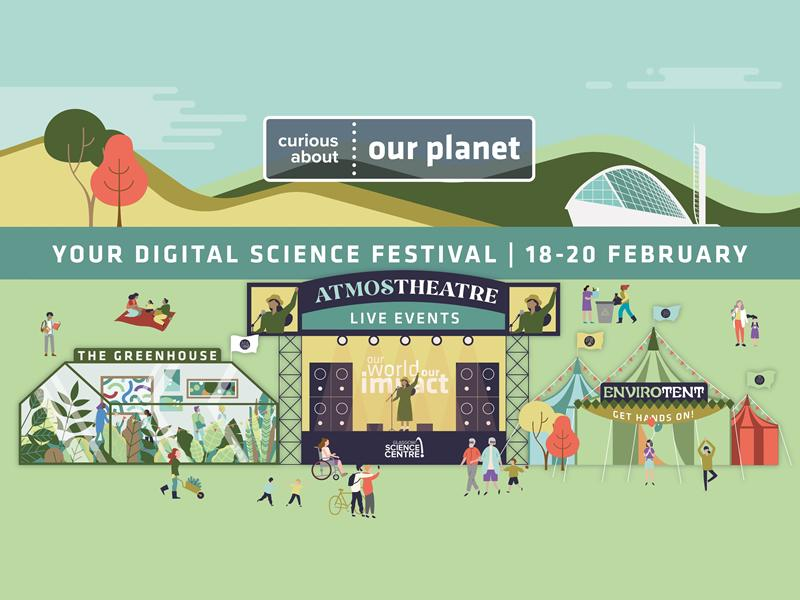Glasgow Science Centre launches first digital science festival