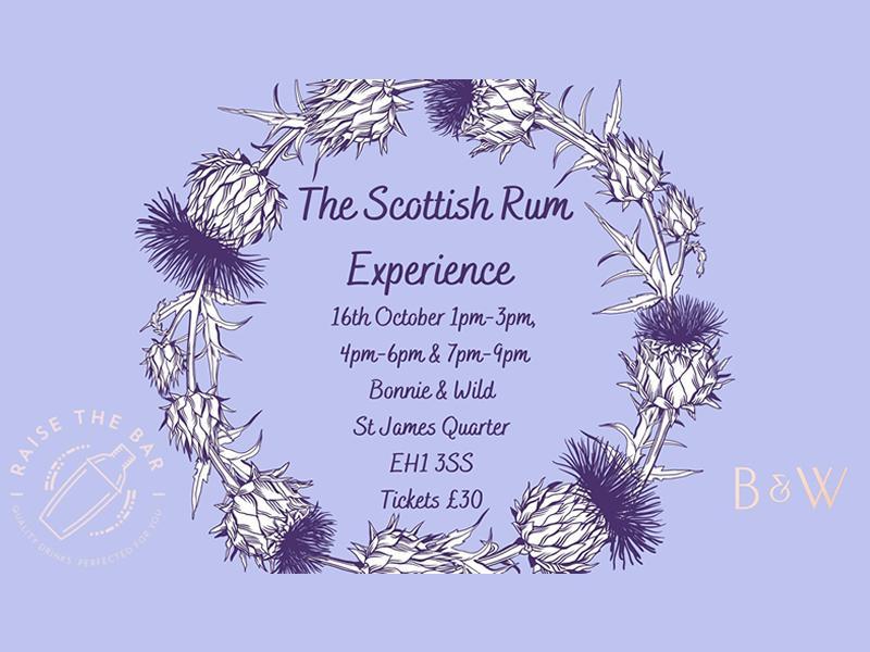 The Scottish Rum Experience