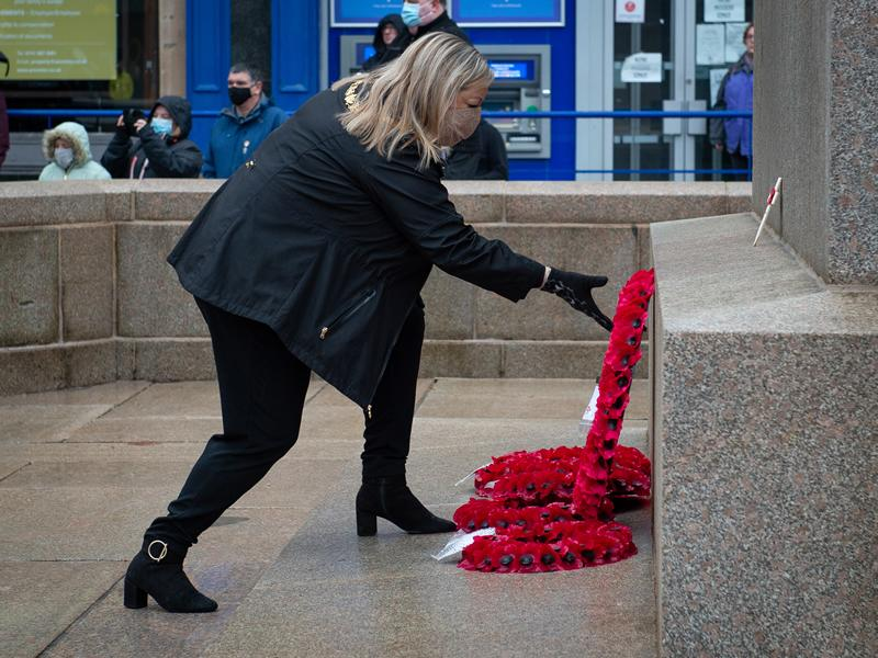 Communities mark Remembrance Sunday online across Renfrewshire