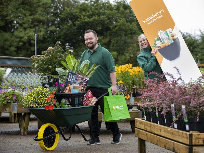 New grocery partnership lands at Dobbies Milngavie