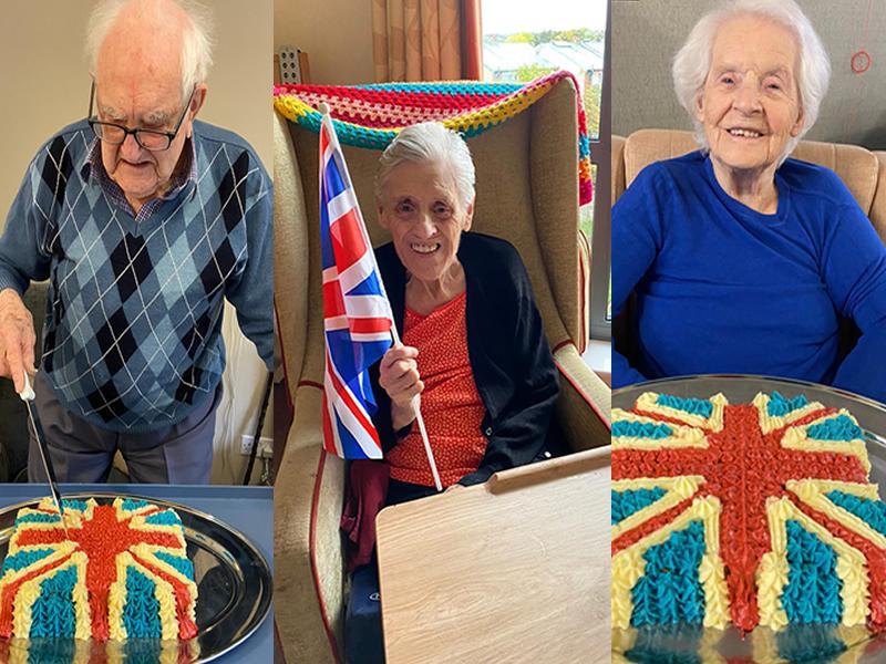 Edinburgh care home celebrates VE Day