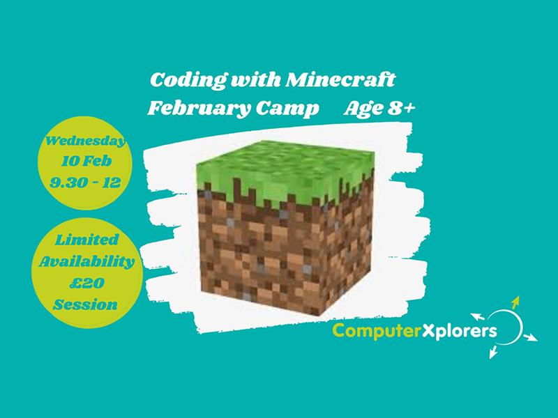 Introduction to Coding with Minecraft - February Camp for Kids
