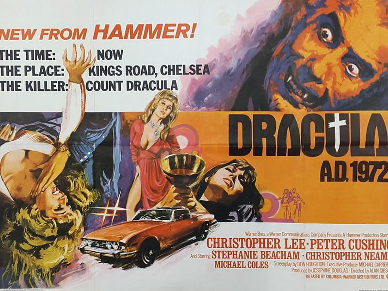 Dracula AD 1972 & Legend Of The Seven Golden Vampires Fright Or Flight Movie Double