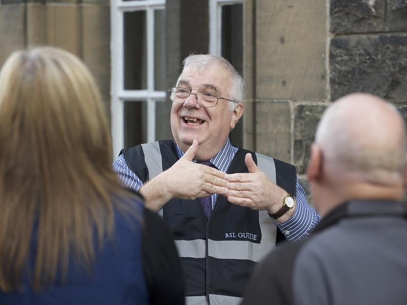 British Sign Language Tours at Stirling Castle