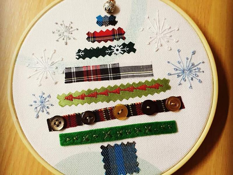 Christmas Embroidery Class