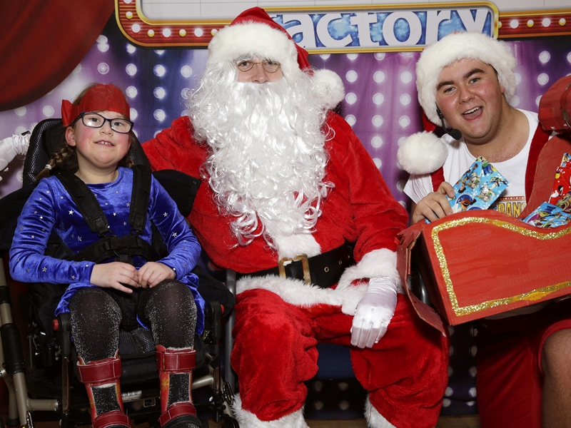 Charity spreads Christmas cheer with prize giveaway