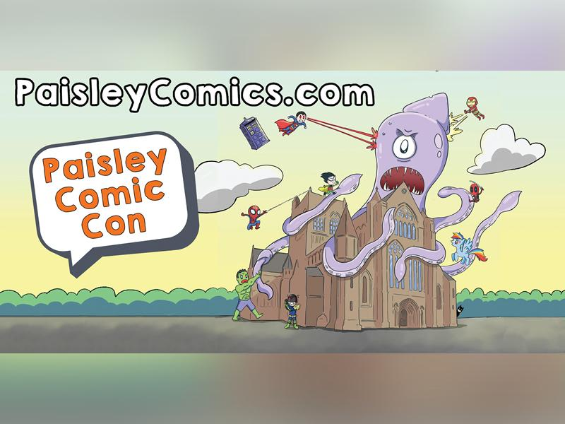 Paisley Comic Con - RESCHEDULED DATE