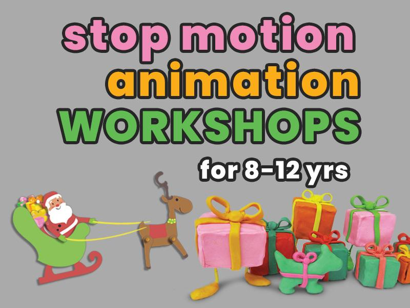 Stop Motion Animation Workshop for 8-12yrs: Festive Fun