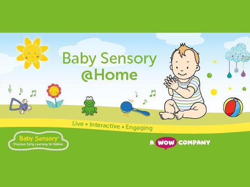 Baby Sensory Stirling Classes - Online