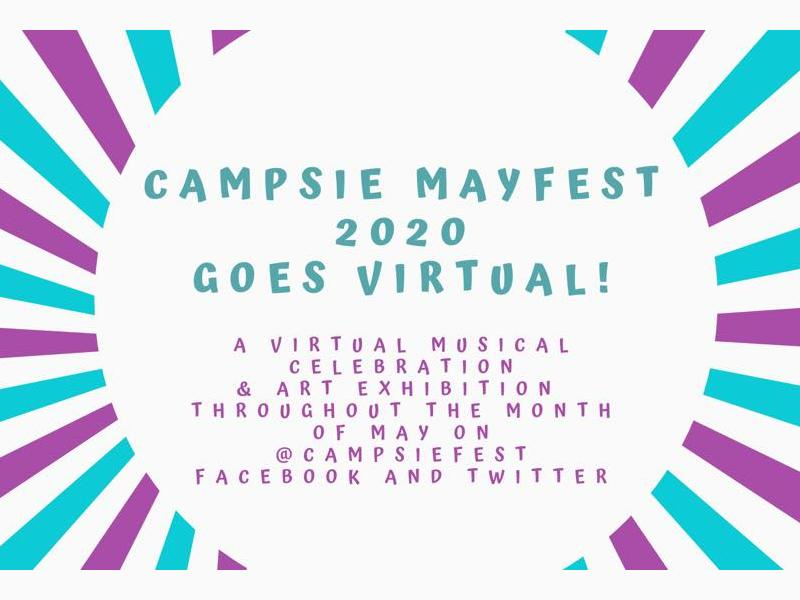 Campsie Mayfest 2020 Goes Virtual