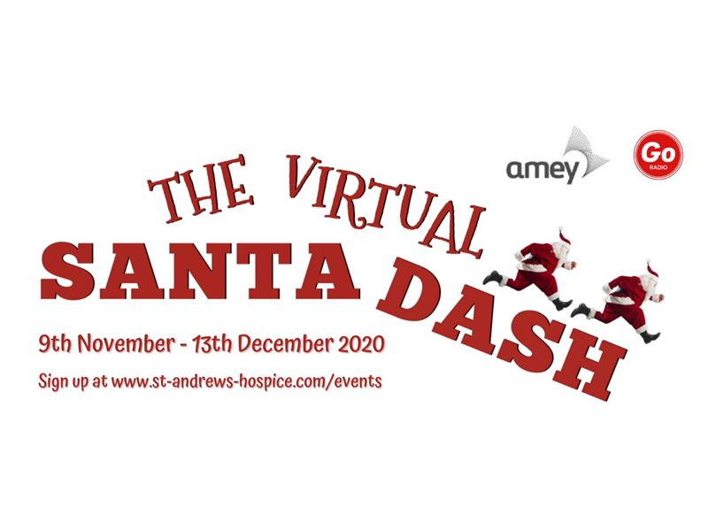 St Andrew's Hospice Virtual Santa Dash