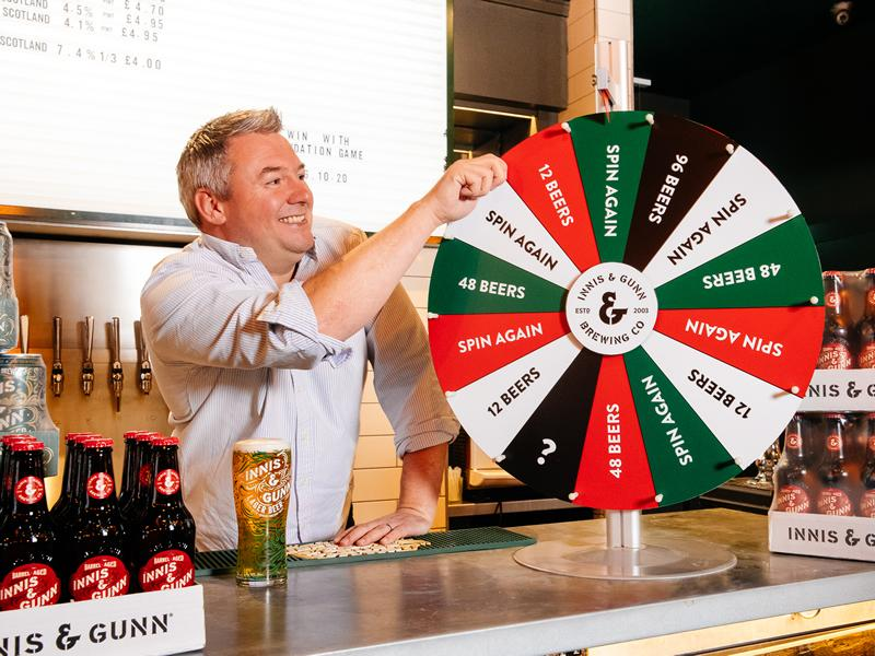 Innis & Gunn to give away over 5000 beers!