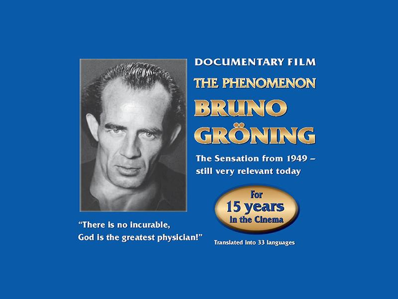 The Phenomenon Bruno Gröning - Documentary Film - POSTPONED