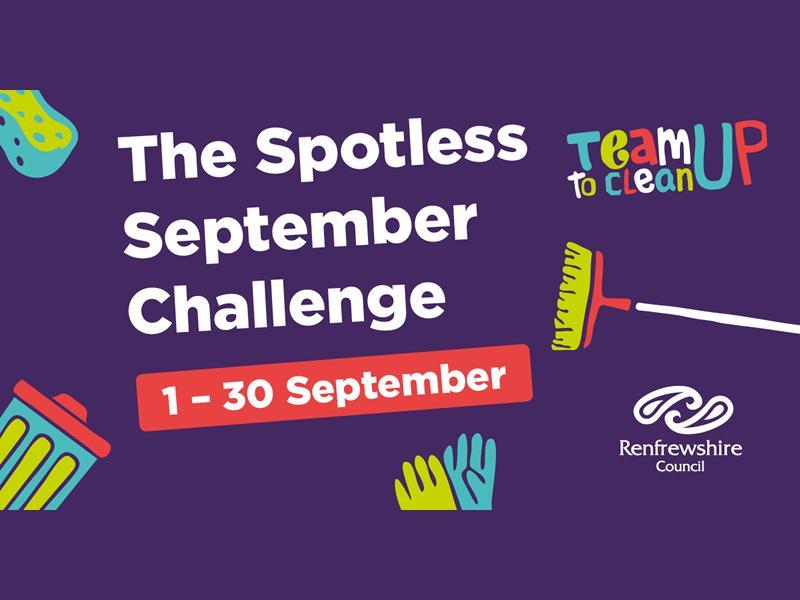 The Spotless September Challenge