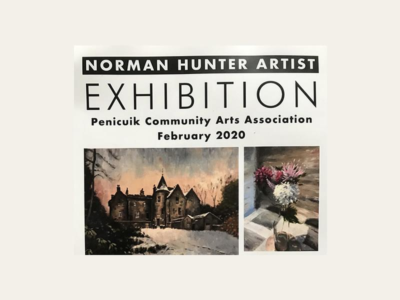 Norman Hunter Artist Exhibition