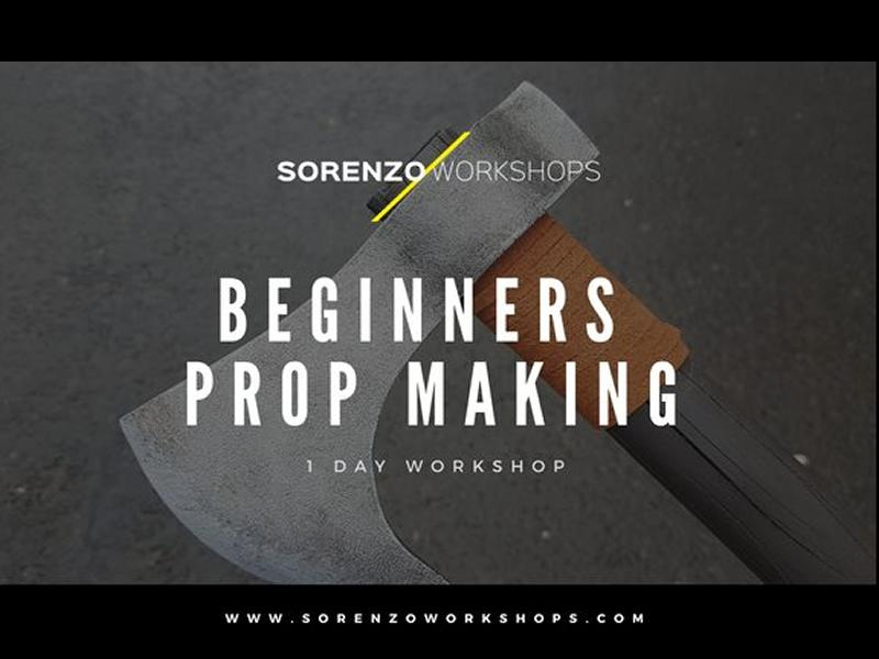 Beginners Prop Making Workshop - 1 Day - CANCELLED