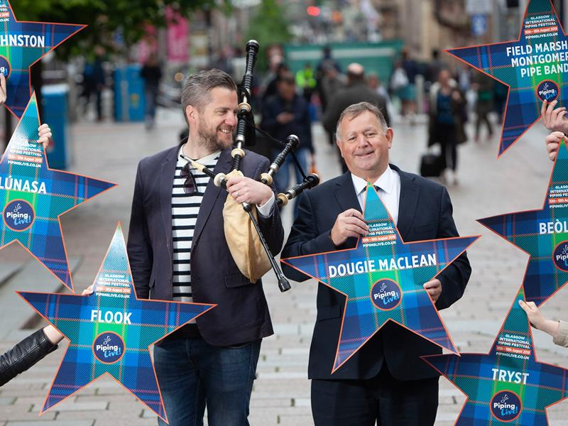 Piping Live! 2019 Brings the Stars of Piping to Glasgow