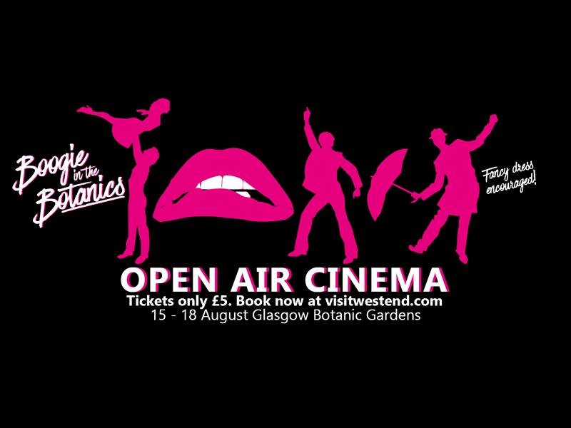 Open Air Cinema: Boogie in the Botanics