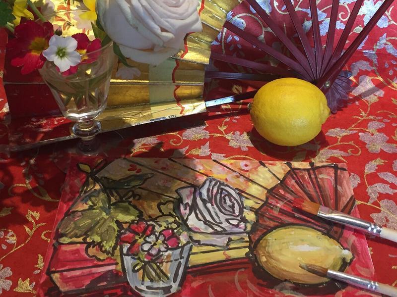 Adult Creative Workshop: Vibrant 1920s Still Life Explorations