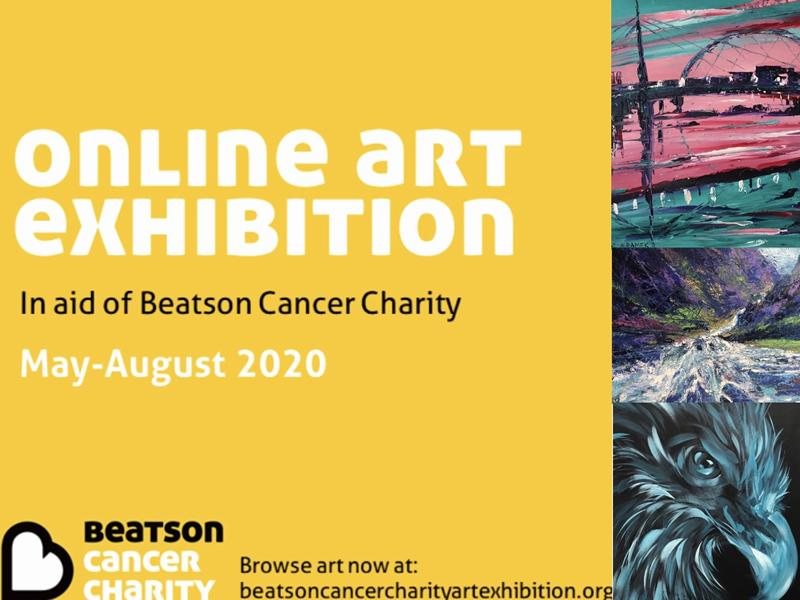Beatson Cancer Charity: Online Art Exhibition