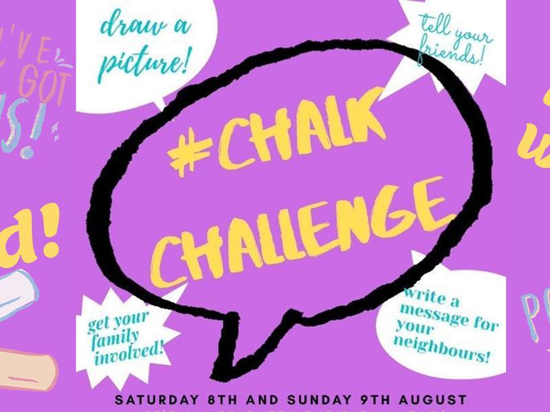 Chalk Challenge - East Renfrewshire