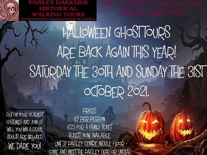 Halloween Ghost Tour