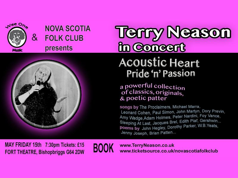 Terry Neason in Concert - Acoustic Heart, Pride 'n' Passion - CANCELLED