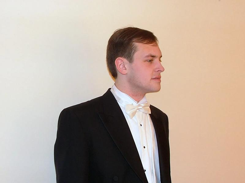 Lunchtime Recital - James Gaughan, Baritone