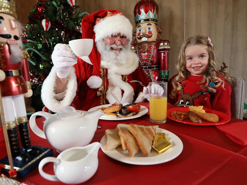 Enjoy breakfast with Santa at Dobbies