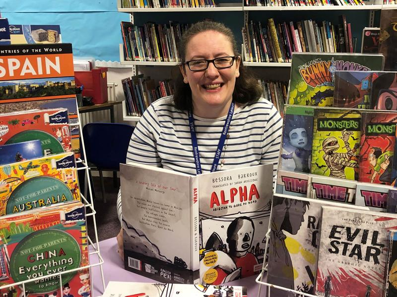 Book lover Clare wins top national award for librarians