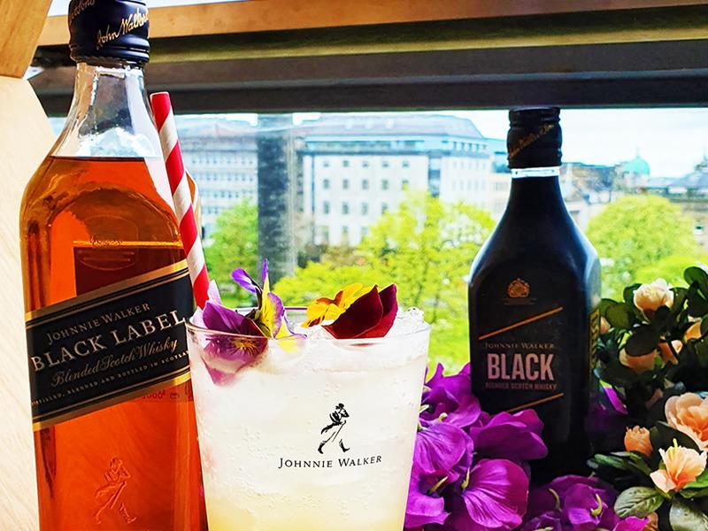 Johnnie Walker Whisky Terrace launches at Forth Floor Harvey Nichols Edinburgh